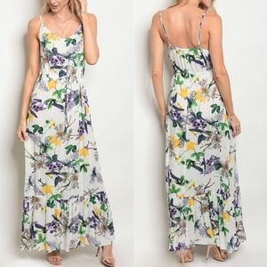 LANEY Flower Power Maxi Dress